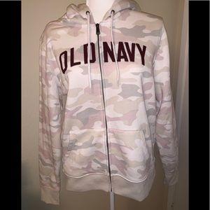 Old Navy Logo graphic Zip hoodie for women